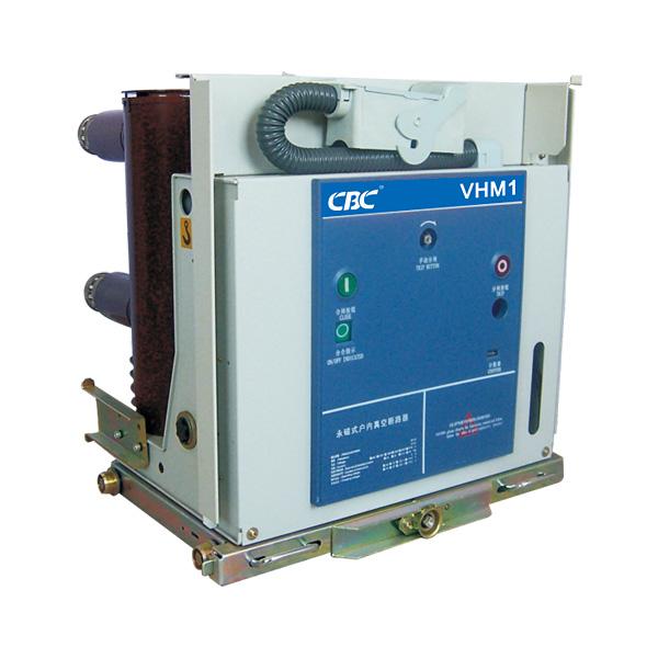 VHM1 handcart type VCB 630A/31.5KA with permanent magnetic operating mechanismIn)